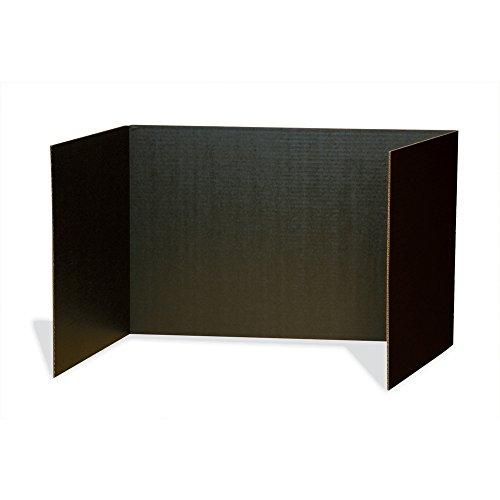 Pacon Privacy Boards, Black, 48