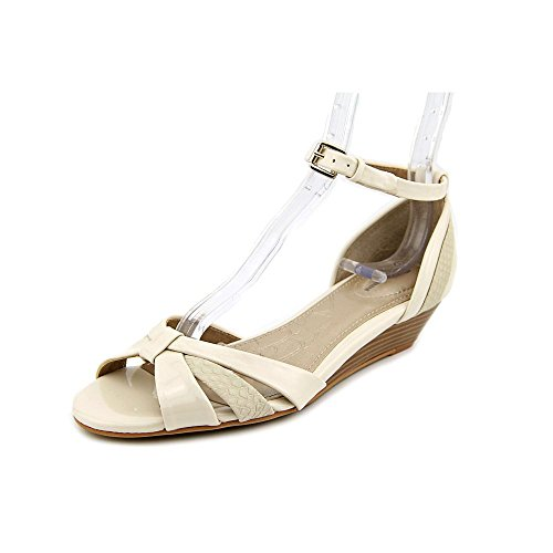 Giani Bernini - Sandalias de vestir para mujer blanco