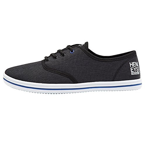 Quiksilver KRMSL373 Black Shoes Canvas Foundation Milo Men's rPqvrxRwH