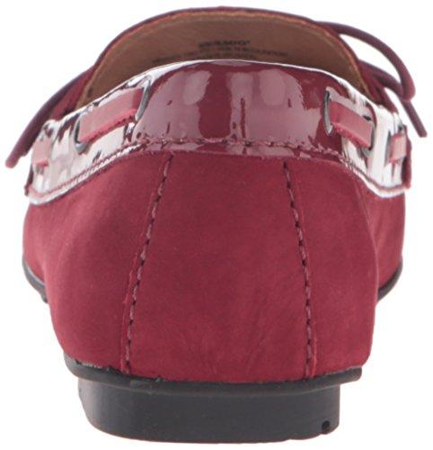 Sebago Donna Meridan Due Occhi Piatto Vino Nubuck / Patent