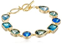 "Carolee ""Cerulean Skies"" Linked Stone Bracelet by Carolee"