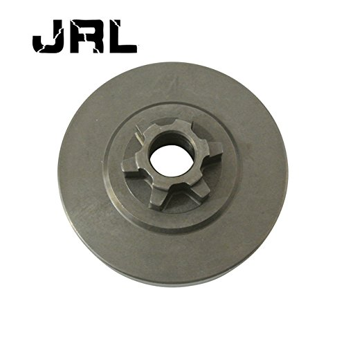 6t Saw (JRL New Clutch Drum Compatible For Zenoah Komatsu 3800 Chainsaw 6T 3/8