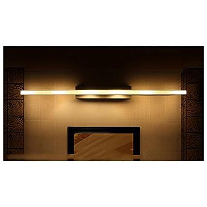 Clase Energ/ética A + + OOFAY Light@ Acero Inoxidable Espejo L/ámpara Ba/ño L/ámpara//L/ámpara De Pared para Ba/ño Espejo Luz Lateral Impermeable Y A Prueba De Humedad Personalidad Estilo Europeo ,6Heads
