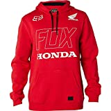 Fox Racing Men's Fox Honda Hoody Pullover Sweatshirts,Small,Dark Red