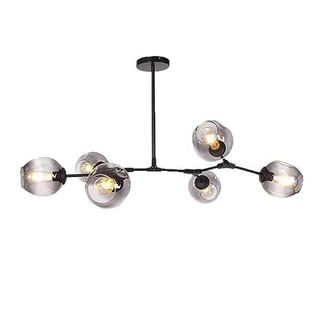 colgante de E276 arañacasquillo luces Auccy Lámpara 35q4AjRL