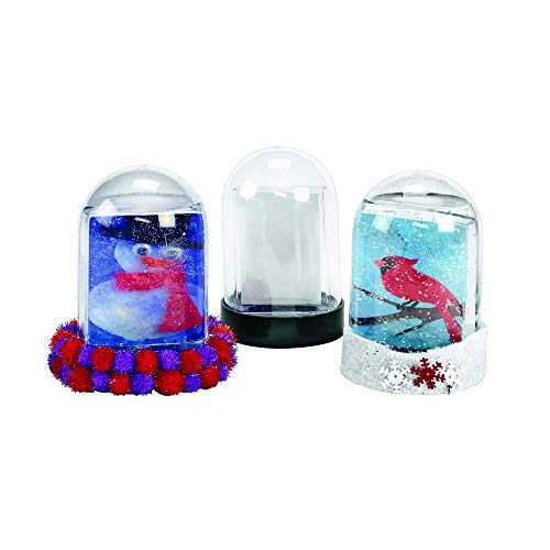 (Colorations Create Your Own Snow Globe - Set of 12 (Item #)