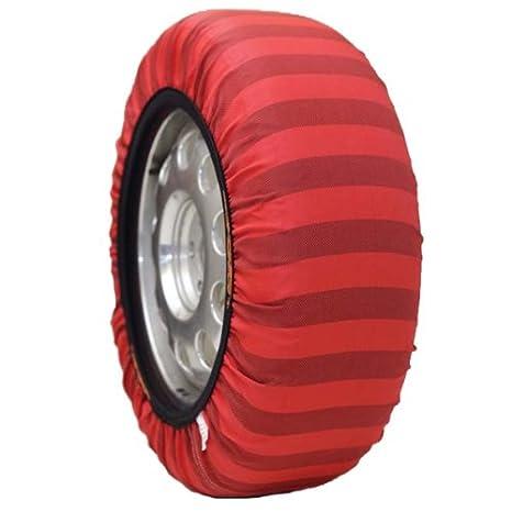 Amazon.es: Isse Classic par de calcetines de nieve UE Aprobado (alternativa a las cadenas) para neumáticos tamaño - 285/50/20 Kit 74