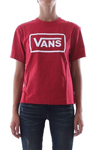 Red shirt Donna Vans T Boom Boxy xqT1nAnHXw