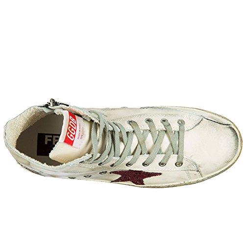 Pelle in Scarpe Francy Nuove Bianco Uomo Goose Alte Golden Sneakers xqYgn5wpAX