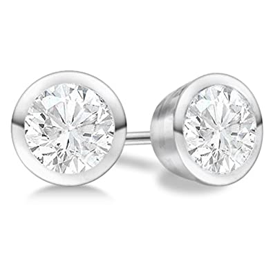 bezel cut with sku single gold stud marquise earrings diamond set earring white
