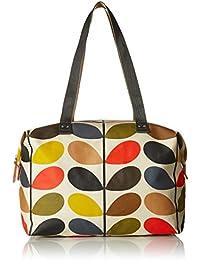Multi Stem Zip Shopper Shoulder Bag