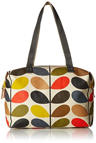 Orla Kiely Multi Stem Zip Shopper Shoulder Bag, Multi, One Size by Orla Kiely
