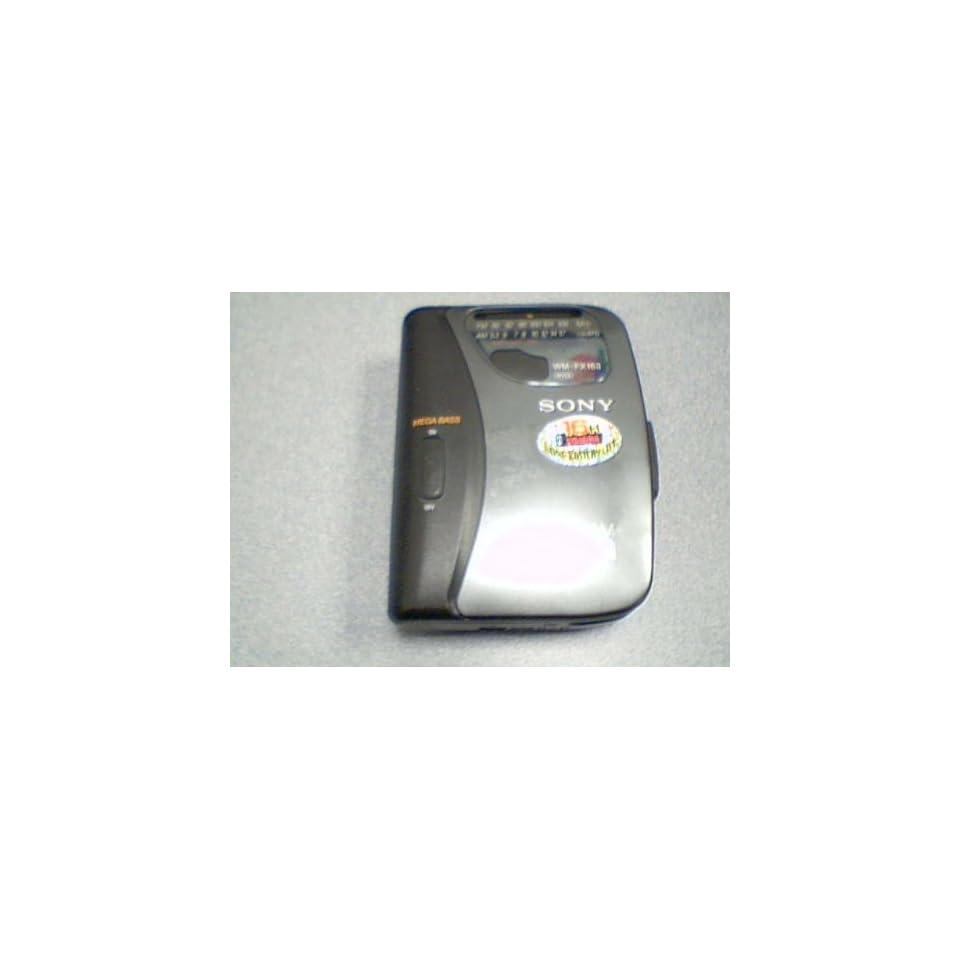 Sony Corporation Sony FM/AM Walkman #WM FX163 Radio Cassette Player (Sony Walkman Model# WM FX163)