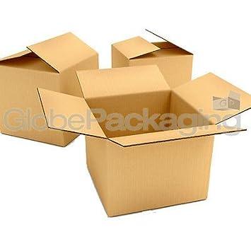 25 Cajas de Embalaje de cajas de cartón de gran tamaño 18 x 12 x 7