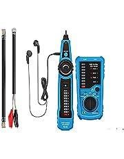 Kabelzoeker Kabeltester Lijnzoeker Telefoon RJ45 RJ11-zoeker Draadtracker LAN-netwerk Kabelzoeker draadtracker Lijndetector Zender voor telefoonkabels en LAN-kabels