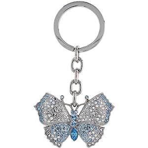 Amazon.com: Large Butterfly Key Chain, Key Ring, Key