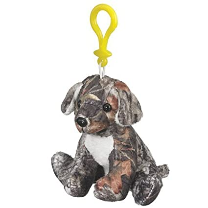 187be0be5cd1 Image Unavailable. Image not available for. Color: Mossy Oak Camo Labrador  Plush Dog Stuffed Animal Backpack Clip Toy ...