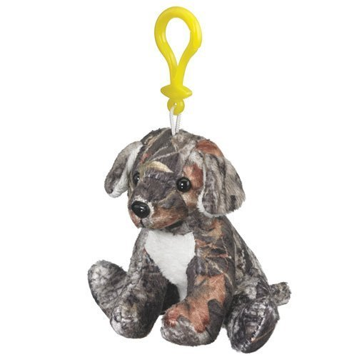 Mossy Oak Camo Labrador Plush Dog Stuffed Animal - Teddy Bear Miniature Key Chain