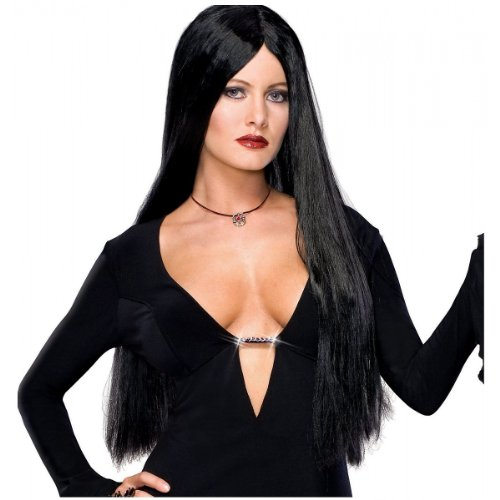 Morticia Costume Addams Family (Adult Morticia Addams Costume Wig)