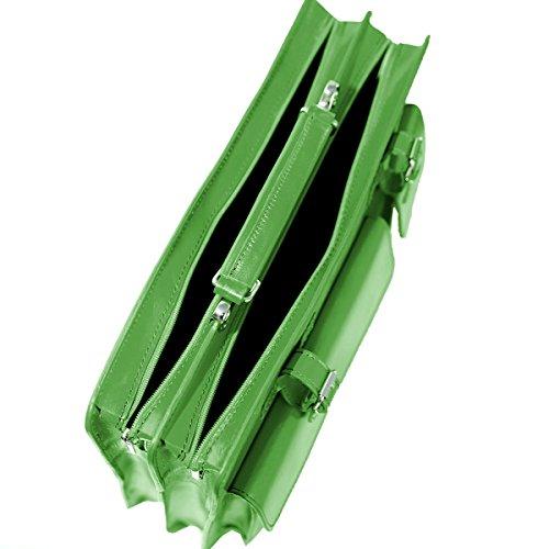 2027 mod de ordinateur Fichier UNISEX avec Schwarz portable cuir sac business p bandoulière Italie ZAwz8