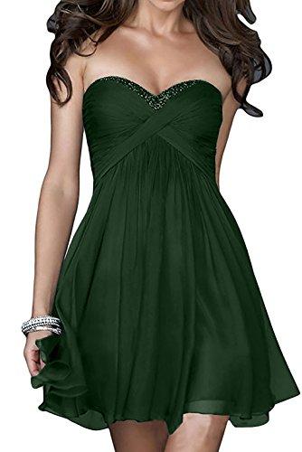 Marie Herzausschnitt La Navy 1 Heimkehrkleider Cocktailkleider Braut Blau Dunkel Abendkleider Gruen Pailletten Kurz UqddIHxw