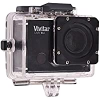 Vivitar DVR914HD 1440p HD Wi-Fi Waterproof Action Video Camera Camcorder (Black) with Remote, Helmet & Bike Mounts