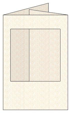 Craftcreations Pack of 5 Double Fold Medium Cards/Envelopes Square Aperture, Stardream Quartz