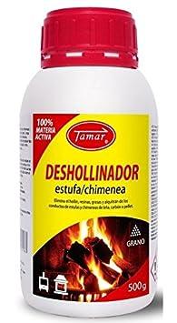 Tamar- Deshollinador Especial Estufas, Chimeneas Envase de 500 g: Amazon.es: Jardín