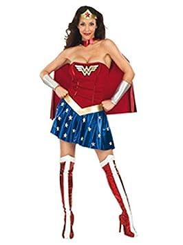 DISBACANAL Disfraz Wonder Woman Mujer - Único, M: Amazon.es ...