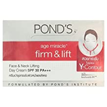 Pond's Age Miracle Firm & Lift Face & Neck Lifting Day Cream SPF30 PA+++ with Instant Lift 50g