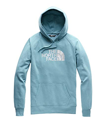 - The North Face Women's Half Dome Pullover Hoodie Storm Blue/Peyote Beige Multi X-Small