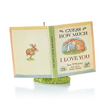To The Moon And Back-2013 Hallmark Keepsake Ornament-From The Guess How Much I Love You collection-QXI2519