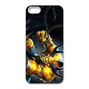 iPhone 4 4s Cell Phone Case White League of Legends Golden Alistar UVW0587466