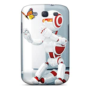 New Arrival Galaxy S3 Case Robot Love Case Cover