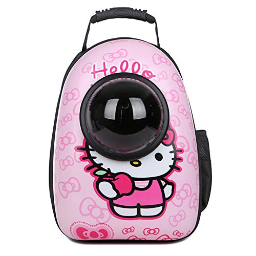 Kuaker Pet Carrier Sling Bag Small Pet Carrier Cat Carrier Pet Handbag Satchel Small Pet Portable Pet Carrier Universe Package,Hellokitty