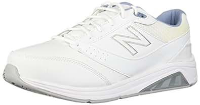 New Balance Women's Womens 928v3 Walking Shoe Walking Shoe, White/Blue, 5 2E US