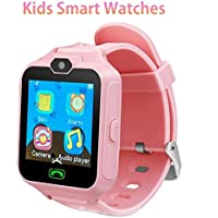 FOROPIOLY Kids Smartwatch Kids Phone Watch Smart Watch for Kids Watches for Kids Phone Watch with Games Camera SOS Alarm Clock Smart Watch for Girls Boys Birthday Festival Gifts Education Toys