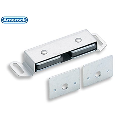 Amerock AN-184 Double Magnetic Catch Magnetic Catches, Catch 2 1/2 L x 13/16 W x 1/2 H by Amerock