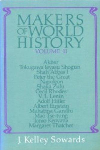 Makers of World History, Vol. 2 (Akbar, Tokugawa Ieyasu Shogun, Shah Abbas, Peter the Great, Napoleon, Shaka Zulu, Cecil