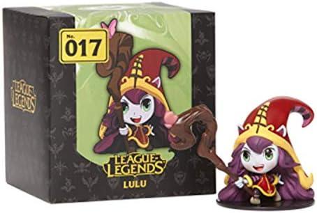 League of Legends LOL feeënheks Lulu-pop, Summoner's Canyon-ornamenten, officieel figuur in de buurt