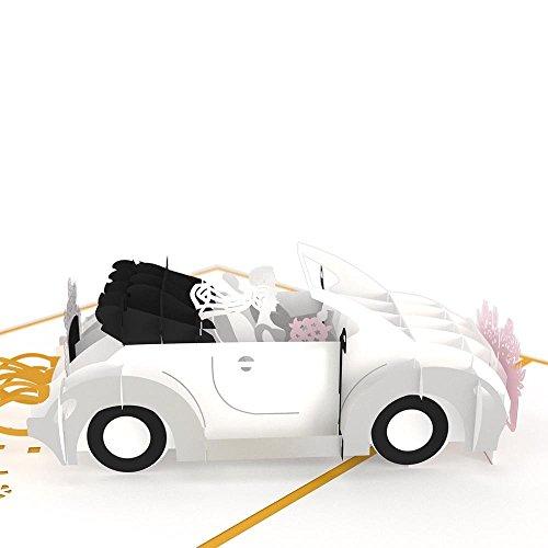 Lovepop 3D Pop Up Greeting Card - Wedding Car Photo #3