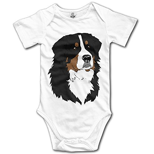 Bernese Mountain Dog Baby Jumpsuit Nation Newborn Infant Boy Girl Romper Bodysuit Clothes