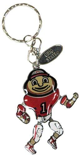 NCAA Ohio State Buckeyes Metal Movable Player Keychain