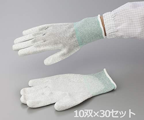 アズワン AP ESD手袋 L (1-2284-62) 1箱(10双/袋×30袋入)  B00NOTQVA2