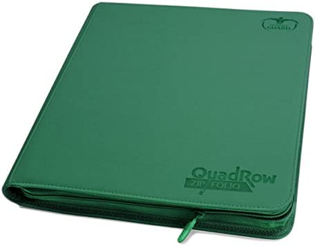 Ultimate Guard(アルティメットガード) QuadRow Zipfolio プレイセットバインダー カードスリーブ