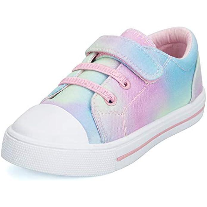 K KomForme Toddler Shoes Boys Girls, Toddler Canvas Sneakers Size 4-13