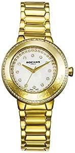 ساعة رسمية للنساء من روكاس، انالوج معدني - RH-0020