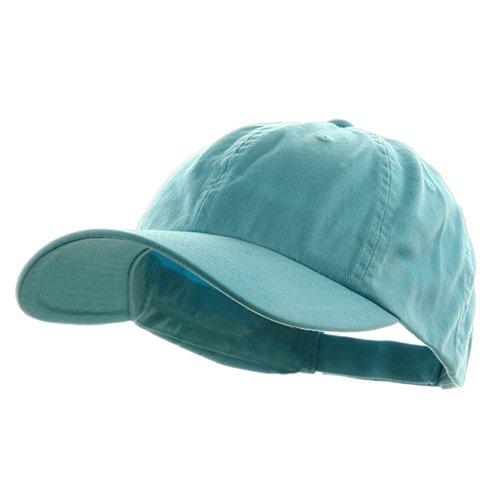 MG Low Profile Dyed Cotton Twill Cap - Aqua OSFM ()