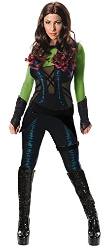 Guardians of The Galaxy Women's Gamora Costume, GOTG, X-Small Black