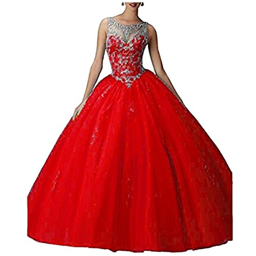 Red Quinceanera Dress: Amazon.com
